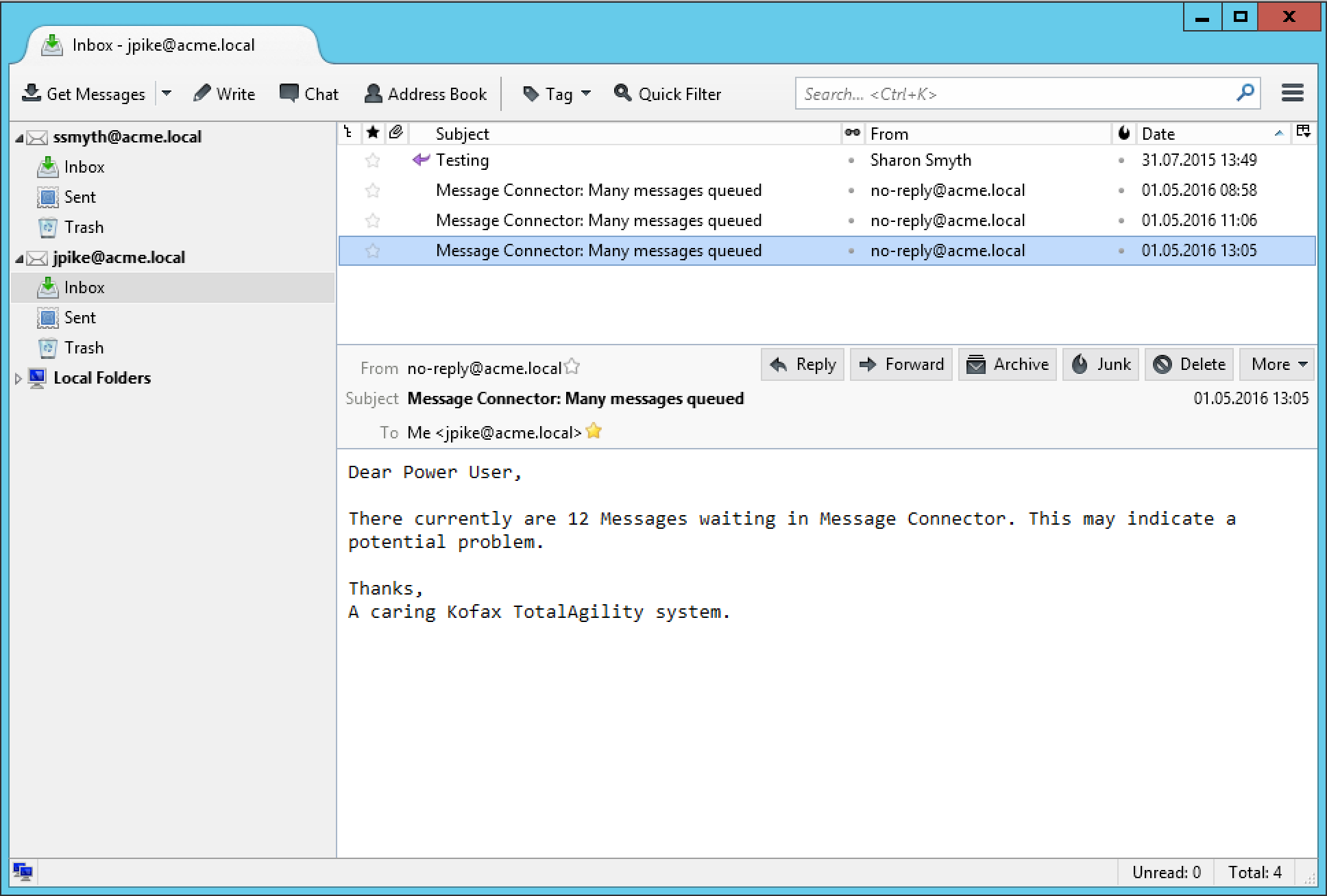 Monitoring the Import Connector – Quipu Blog